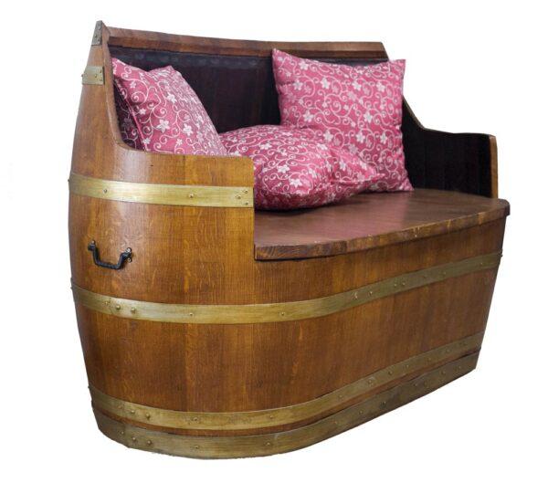 sillón barricas