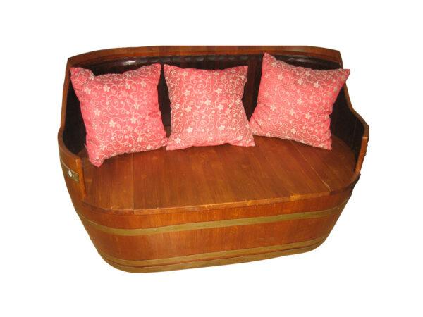 sillón de barricas