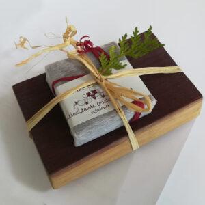 jabón exfoliante de vino Tempranillo
